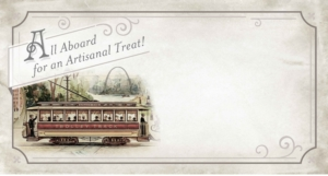 St louis Trolley Illustration