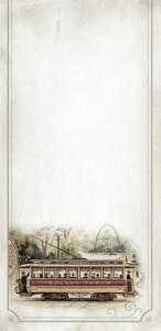 st louis trolley illustration