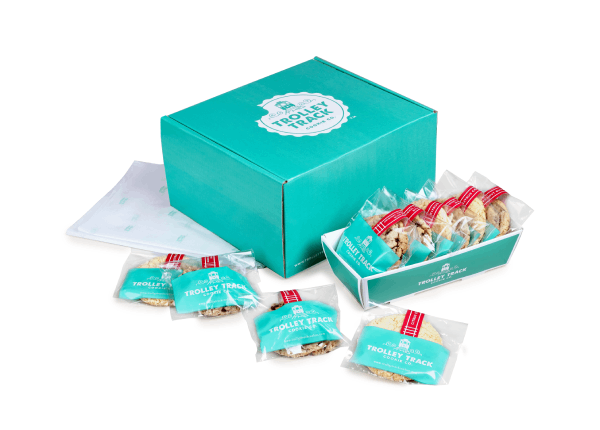 gift box of one dozen cookies